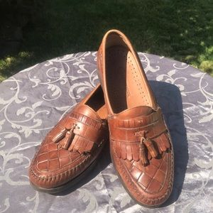 Leather Earth Shoes-Mens Dress Loafers- Sz12D